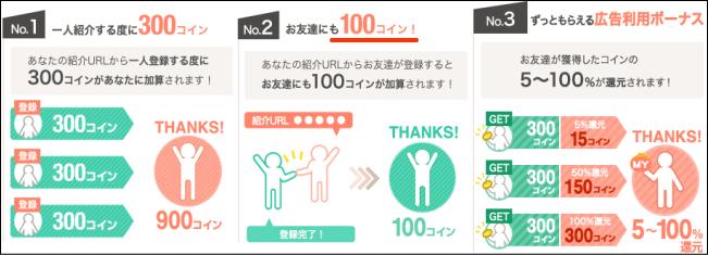 お財布comお友達紹介
