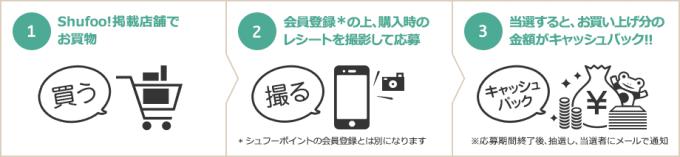 Shufoo!1000万円2